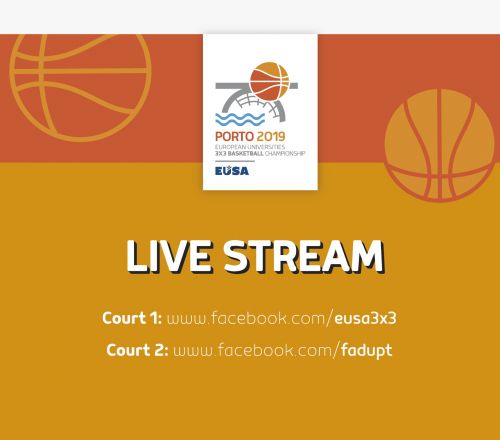 3x3 Basketball games live streamed on Facebook