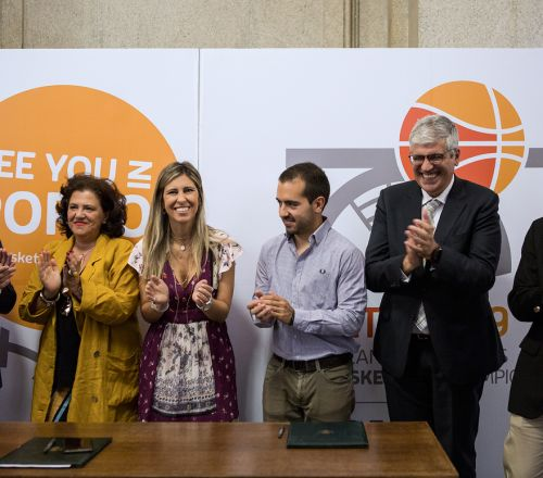 EUSA 3x3 Basketball Championship officially presented at Porto City Hall